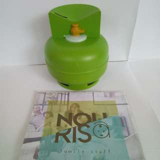 CELENGAN KOIN PLASTIK ELPIJI / MONEY BANK