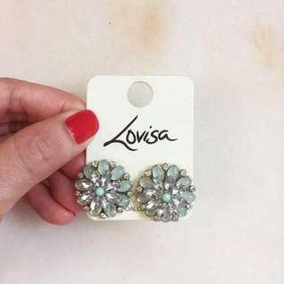 Lovisa Earrings - Mint Green