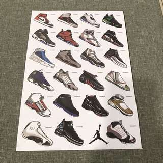 A5 Sport shoes - Luggage/ notebook/ guitar / laptop stickers