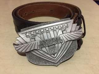 美版 Harley Davidson belt 哈利皮帶