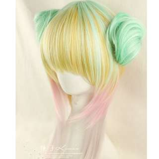 BN Harajuku Multi Color Wig