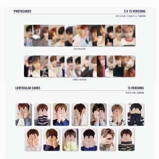 seventeen special album director's cut photocards & lenticular cards