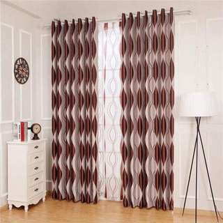 3 Piece Thick Curtain Set