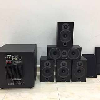 Wharfedale Diamond 5.1 CH Surround Sound System