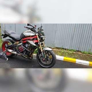 Kawasaki ER6 N Modif Army