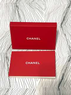 Chanel Gift Dog Year Red booklet