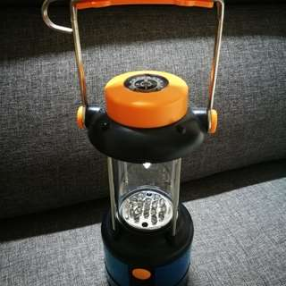 LED Camping Lamp with Compass