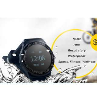 Smartwatch - FitOn: World's 1st Blood Oxygen Saturation Smart Watch(RESERVED)