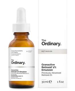The Ordinary Advanced Retinoid 2% (now called Granactive Retinoid 2% Emulsion)