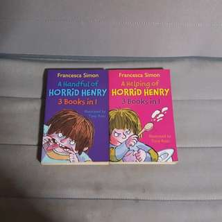 Horrid Henry storybook