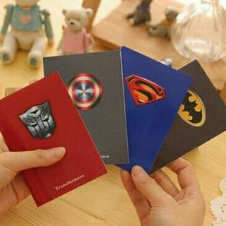 Superheroes Mini Notebook