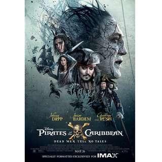 Pirates of the Caribbean Salazar's Revenge MOVIE POSTER
