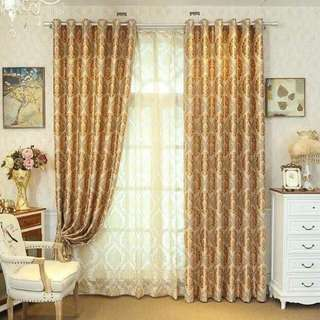 3 Piece Thick Curtains Set