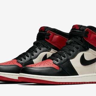 """Air Jordan 1 Retro High OG """"Bred Toe"""""""