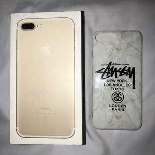 IPHONE 7PLUS Stussy Marble Case