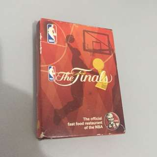 Nba playing cards from kfc