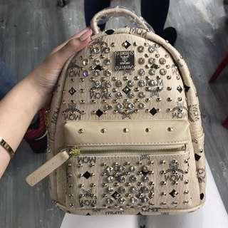 MCM Studded Bag