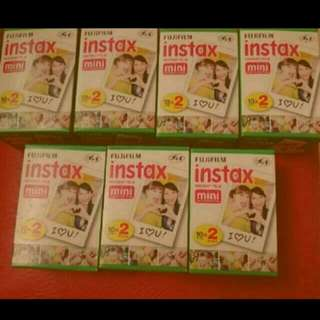 Mini Fujifilm Instax Film