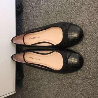 Maud Frizon 37 37.5 black shoes