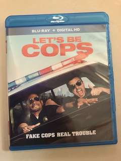Let be cops (bluray)