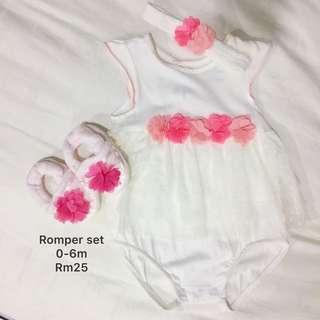 Baby Girl Romper