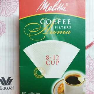 德國Melitta咖啡濾紙1×4