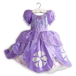 POWERSELLER: AUTHENTIC DISNEY OFFICIAL LICENSED SOFIA THE FIRST COSTUME 7-8