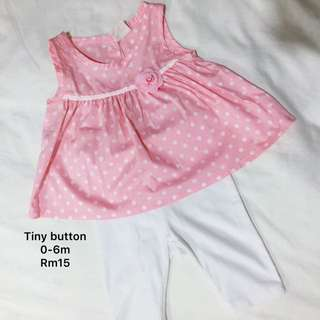 Baby girl top & legging