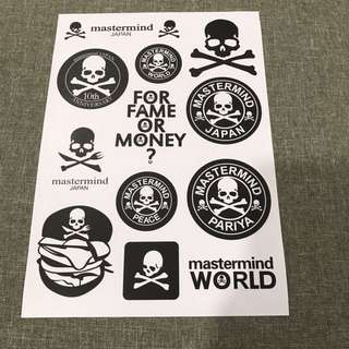 A12 Rock - Luggage/ notebook/ guitar / laptop stickers