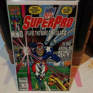 Marvel Comics SuperPro Issue 4