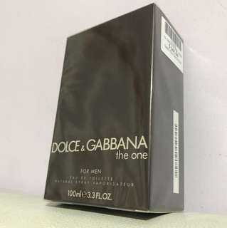 Dolce&Gabbana The One - 100ml authentic