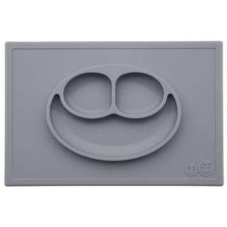 Happy Mat in Gray