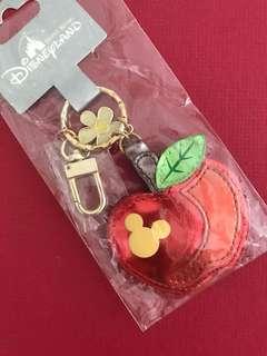 Disney Mickey Apple Plushie Keychain