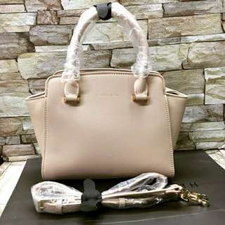 Authentic Charles & Keith Trapeze bag