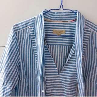 🈹全新Burberry 藍白色連身裙 UK6