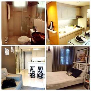 Affordable 13k/Monthly, Spacious 32.5 sq.m Quality 1BR Condominium Unit. AREZZO Place Pasig  Accessible to Eastwood, Makati, BGC, Taguig
