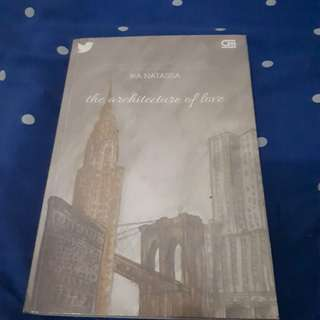 Novel Ika Natassa the architecture of love
