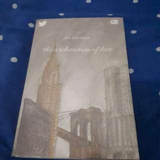 Novel Ika Natassa the architecture of love