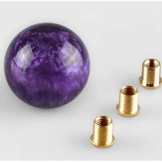 [RESTOCK2] Gear Knob - Crystal Purple Series - (BRAND NEW WITH BOX)