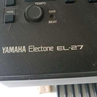 Good news for beginner - Yamaha keyboard Electone EL-27