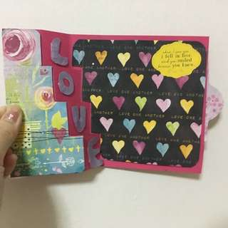 Birthday card /Valentine card