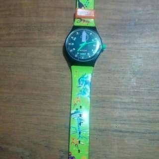 Jam Tangan Swatch Preloved - Seken - Bekas - Edisi Singapore Tourism