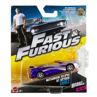 hot wheels fast Furious Mitsubishi Spyder gt limited