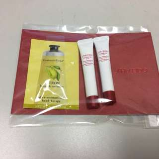 全新未用 Shiseido 資生堂 ULTIMUNE Power Infusing Eye Concentrate 10 ml 送Crabtree Hand Cream 5g