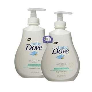 Dove Baby Head to Toe Wash Sensitive