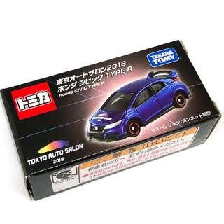 Tomica Honda TypeR FK2 Tokyo AutoSalon 2018 Type R