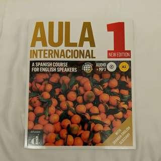Aula internacional 1 Spanish textbook