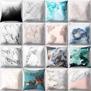 Marble Pattern Soft Pillowcase