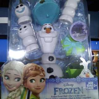 FURTHER MARK DOWN ! Frozen Fever Olaf Toy Set