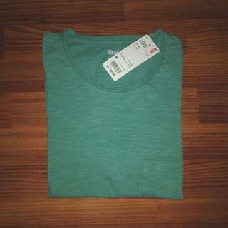 T-Shirt Washed Slub Crew Neck